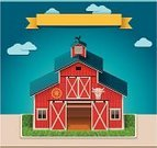 Barn,Farm,Door,House,Symbol,Red,Store,Cow,Warehouse,Built Structure,Computer Icon,Shed,Building Exterior,Street,1940-1980 Retro-Styled Imagery,Facade,Roof,Wood - Material,Non-Urban Scene,Village,Outdoors,Rustic,Construction Industry,Vector,cowshed,Old-fashioned,Field,Bull - Animal,Pasture,Weathered,cowhouse,byre,Design Element,Wheel,Cattle,Architecture,Nature,Lawn,Window,Xxl Icon,Rural Scene,Grass,Ilustration