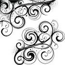 Swirl,Floral Pattern,Dirty,Scroll Shape,Pattern,Backgrounds,Vector,Design,Corner,Computer Graphic,Black And White,Growth,Grunge,Ornate,Symbol,Elegance,Decoration,Digitally Generated Image,Angle,Old-fashioned,Shape,Calligraphy,Ilustration,Splattered,Invitation,Curled Up,Black Color,Spray,Part Of,Design Element,Classical Style,Victorian Style,No People,Spiral,Intricacy,Color Image,White Background,Colors,Style
