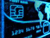 Credit Card,Cyberspace,Computer Chip,Futuristic,Banking,Computer,Technology,Electrical Equipment,Blue,Design,Three-dimensional Shape,Electronics Industry,No People,Pixelated,Computer Graphic,Abstract,Vibrant Color,Luminosity,Connection,Illuminated,Glowing,Equipment,Arts Backgrounds,Single Object,Plastic,Bright,Isolated On White,Backgrounds,Copy Space,Arts And Entertainment,Electronics,Number,Technology,Western Script,render,Mother Board,Light - Natural Phenomenon,Reflection