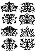 Baroque Style,Black And White,Vector,Design,Art,Scroll Shape,Elegance,Decoration,Tribal Art,Drawing - Art Product,Sign,Swirl,Ornate,Clip Art,Illustrations And Vector Art,Symmetry,Arts And Entertainment,Curve,Isolated Objects,Black Color,Obsolete,Pencil Drawing,Arts Symbols,Ink,Vector Ornaments,Ilustration,No People