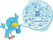 Bird,Social Networking,Bluebird,Blue,Thumbs Up,Communication,Mobile Phone,E-commerce,Speech Bubble,Moving Down,Inspiration,Telephone,Ideas,Blog,Internet,Mail,Global Communications,Speech,Symbol,Computer Icon,Female,Discussion,Connection,Intelligence,Computer,Male,E-Mail,Friendship,Cartoon,Wireless Technology,Enter Key,Message,Shouting,Community,Cute,Moving Up,Vector,Smiling,Downloading,Laptop,www,Ilustration