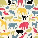 Animal,Silhouette,Pets,Tropical Rainforest,Pattern,Dog,Elephant,Domestic Cat,Symbol,Seamless,Giraffe,Rabbit - Animal,Hippopotamus,Kangaroo,Snake,Farm,Mammal,Cow,Mouse,Multi Colored,Crocodile,Dolphin,Bird,1940-1980 Retro-Styled Imagery,Backgrounds,Cartoon,Animals In The Wild,Cute,Ilustration,Fish,Group of Objects,Vector,Humor,Textured Effect,Group Of Animals,Collection,Ostrich,Fly,Domestic Animals,Characters,Wildlife,Set,Vector Cartoons,Gold Colored,Nature,Animal Backgrounds,Decor,Mane,Animals And Pets,Illustrations And Vector Art,Vector Backgrounds