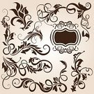 Ornate,Picture Frame,Floral Pattern,Swirl,Angle,Scroll Shape,Vector,Design,Computer Graphic,Elegance,Design Element,Leaf,Part Of,Drawing - Art Product,Decoration,Style,Vector Backgrounds,Shape,Illustrations And Vector Art,Set,Vector Florals,Collection,Ilustration,Abstract,Curled Up,Art,Spiral