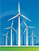 Wind Turbine,Wind,Turbine,Wind Power,Vector,Energy,Nature,Power Station,Pollution,Environment,Global Warming,Fuel and Power Generation,Curve,Backgrounds,Diminishing Perspective,Alternative Energy,Blue,Sky,Sparse,Environmental Conservation,Horizon Over Land,Electronics,Horizon,Technology,Generator,Green Color,Power Supply,Electricity,Propeller