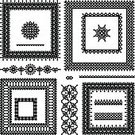 Lace - Textile,Frame,Picture Frame,Black Color,White,Ribbon,Set,Pattern,Floral Pattern,Seamless,filigree,Retro Revival,Decoration,Vector,Ornate,Design Element,Old-fashioned,Arts And Entertainment,Holidays And Celebrations,Transparent,Illustrations And Vector Art,Backgrounds,Vignette,Ilustration,Collection,Computer Graphic,Elegance