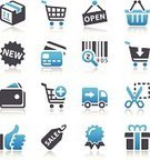 Symbol,Shopping Cart,Computer Icon,Shopping,Icon Set,E-commerce,Retail,Sale,Delivering,Marketing,Gift,New,Box - Container,Truck,Coupon,Wallet,Credit Card,Shopping Basket,Open,Bar Code Reader,Vector,Interface Icons,Quality Control,Certificate,Shopping Bag,Open Sign,Accessibility,Opening,Pick-up Truck,Price Tag,Label,Ilustration,Modern,Delivery Van,Award,Money Bag,Reflection,internet icons,Isolated On White