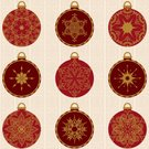 Christmas,Decoration,Ornate,Star Shape,Circle,Pattern,Sphere,Design,Vector,Holiday,Christmas Ornament,Seamless,Pen And Ink,Elegance,Snowflake,Gold Colored,Floral Pattern,Geometric Shape,Large Group of Objects,Red,Ilustration,Illustrations And Vector Art,No People,Arrangement,Christmas,Collection,Design Element,Holidays And Celebrations,Color Image,Vector Ornaments,Shape,Vector Backgrounds,Wrapping Paper,Celebration,Wallpaper Pattern