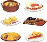Food,Empanada,Dinner,Cooking Pan,Crockery,Cooking,Symbol,Casserole,Computer Icon,Argentina,Stew,Lunch,Meal,Plate,Vector,Appetizer,Dumpling,Restaurant,Indigenous Culture,Bowl,Argentinian Culture,Cake,Tart,Meat,Ilustration,Tasting,Chorizo,Dessert,Cheese,Food State,Garnish,Boiled,East Asian Culture,Food And Drink,Meat And Alternatives,Illustrations And Vector Art,Cultures,Neapolitan - Ice Cream,Set,Steamed,milanesa,Tomato,Preparation,Cooked,South America,Refreshment,Serving,Vector Icons