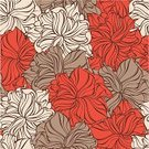 Flower,Modern,Red,Pattern,Abstract,Design,Cute,Seamless,Ornate,Decor,Computer Graphic,Illustrations And Vector Art,Style,Vector Backgrounds,Vector Florals,Decoration,Vector Cartoons,Wallpaper Pattern,Vector,Wave Pattern,Ilustration,Backgrounds,Elegance