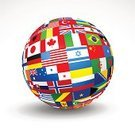 Globe - Man Made Object,Flag,Planet - Space,Global,Earth,World Map,Sphere,Map,Global Communications,Variation,Global Business,nations,Travel,Vector,countries,Atlas,Togetherness,Unity,Pattern,Russia,National Landmark,Australia,Europe,Africa,USA,Support,Ilustration,Eurasia,Asia,North,Shape,continents,Latitude,Concepts And Ideas,Illustrations And Vector Art,Travel Locations,Communication,South,Business Travel,Air Travel,Vector Icons,Longitude,Antarctica