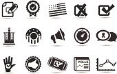 Symbol,Voting,Computer Icon,Election,Icon Set,Ticket,Polling Place,Political Rally,Podium,Chart,USA,Graph,Letter X,Star - Space,Newspaper,Human Hand,Success,Badge,Patriotism,American Flag,The Americas,Thumbs Up,Speech,Discussion,Star Shape,Check Mark,American Culture,Gauge,Republican Party,Voting Ballot,Striped,Illustrations And Vector Art,Business Symbols/Metaphors,Vector Icons,Clip Art,Business,Public Opinion,Democratic Party,Gesturing,Ilustration,Vector,Megaphone,Mule,Cross Shape,Interface Icons