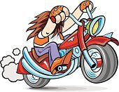 Motorcycle,Biker,Riding,Sports Race,Gang Member,Road,Cyclist,Motorcycle Racing,Engine,Street,Cycling,Bicycle,Power,Fuel and Power Generation,Transportation,Competition,Speed,Vector Cartoons,Actions,Illustrations And Vector Art