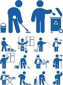 Cleaning,Symbol,Computer Icon,Maid,Men,Service,Garden Hose,Clean,People,Window,Lawn Mower,Washing,Women,Mop,Manual Worker,Male,Pouring,Working,Job - Religious Figure,One Person,Removing,Human Resources,Scouring Pad,Vector,Ilustration,Clean Off,Move Off,Occupation,People,Illustrations And Vector Art,Objects/Equipment,Brush Off