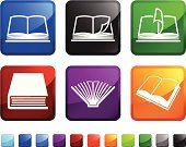 Book,Computer Icon,Encyclopaedia,Page,Bookstore,Icon Set,Vector,Library,Interface Icons,Reading,Label,Square Shape,Ilustration,Square,Design,Red,Futuristic,Mystery Novel,non-fiction,Green Color,History Book,Page Turner,No People,White Background,Novel,Romance Novel,Textbook,Soft Cover,hard cover,Black Color,Imagination,Blue,Turning Pages