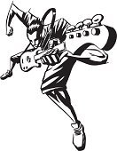 Guitar,Musician,Rock and Roll,Punk,Music,Performance,Funky,Music,Aggression,Arts And Entertainment