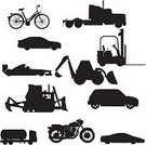 Car,Silhouette,Forklift,Truck,Motorcycle,Racecar,Bicycle,Transportation,Semi-Truck,Outline,Vector,Bulldozer,Sports Car,Back Lit,Mode of Transport,Cartoon,Fuel Tanker,Indy Racing League,Construction Machinery,Sketch,Motor Vehicle,Ilustration,No People,Clip Art,Agricultural Machinery,Isolated On White,Large Group of Objects,Sedan,Manufacturing Equipment,Isolated,Cycle,Black Color,Design,Cut Out,Collection,Design Element,Remote,White Background,Digital Composite,Digitally Generated Image,Illustrations And Vector Art
