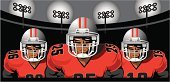 American Football - Sport,Football Player,American Football Stadium,Stadium,Football,Football Field,Playing,Sign,American Culture,Sports Team,Teamwork,Lighting Equipment,USA,Vector,Sports Helmet,Three People,Igniting,Front View,Team Sport,Shoulder Pads,Protection,Number,Playing Field,Night,Grid,Head And Shoulders,Red,stadium lighting,Spotlight,Goal Post,Protective Workwear,Touchdown,Monday Night Football,Textured,Dusk,Computer Graphic,Competition,Grid Irons,Afc,Competitive Sport,Color Image,Goal,AFC,Backgrounds,Football Yard,Ilustration,NFC,Light Effect,Success,Floodlight,Shadow,Textured Effect,Sports Equipment,Face To Face,equipping,Outdoors,Football Helmet,Floodlit,Spot Lit,Football Faces
