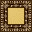 Frame,Floral Pattern,Ornate,Square,Pattern,Abstract,Scroll Shape,Gold Colored,Baroque Style,Decoration,Vector,Angle,Retro Revival,Vignette,Architectural Revivalism,Branch,Decor,Swirl,Vector Ornaments,Illustrations And Vector Art,Style,Rectangle,Design,flourishes,Vector Backgrounds,Vector Cartoons,Elegance,Creativity,Art,Repetition,Classical Style,Cartouche