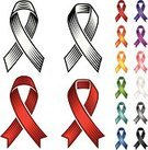 Award Ribbon,Ribbon,Charity and Relief Work,Purple,Yellow,White,Alertness,Award,Vector,Orange Color,Ilustration,Blue,Design,Silver Colored,Flowing,Digitally Generated Image,Healthy Lifestyle,Red,Green Color,Pink Color,Bright,Vibrant Color,Gray,Black Color,Brightly Lit,Good Cause