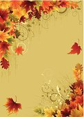 Autumn,Thanksgiving,Falling,Backgrounds,Harvest Festival,Celebration,Grunge,Grass,Vector,Japanese Fall Foliage,Vine,Swirl,Design,Maple Leaf,Holiday,Orange Color,Fall,Ilustration,Clip Art,Shape,Vector Backgrounds,Red,Decoration,Yellow,Pattern,Nature,Colors,Copy Space,Illustrations And Vector Art,Green Color,Tree
