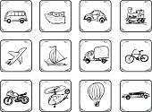 Sketch,Car,Symbol,Nautical Vessel,Doodle,Bicycle,Sailboat,Airplane,Transportation,Icon Set,Computer Icon,Train,Truck,Traffic,Commuter,Sailing Ship,Mode of Transport,Passenger Ship,Industrial Ship,Cargo Container,Van - Vehicle,Black Color,Taxi,Pick-up Truck,Bus,Painted Image,Interface Icons,Land Vehicle,Paintings,Travel,Art,Sign,Button,Set,Industry,Helicopter,Ilustration,Pen,Illustrations And Vector Art,Computer,Accent,Transportation,Vector Icons,Part Of A Series,Pen,Design,Design Element,Vector,Part Of,Remote,Cruise Ship,Cruise