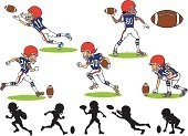 American Football - Sport,Child,Vector,Quarterback,Silhouette,Kicking,Rugby Ball,Cartoon,Equipment,Action,Male,Goal,Punting,Playing Field,Sport,Teenager,Passing,Black Color,Wide Receiver - Athlete,Throwing,Set,Sports Team,Catching,Defending,Characters,Playing,Smiling,Group Of People,Color Image,Team Sports,Protection,Rivalry,Shooting at Goal,Illustrations And Vector Art,Athlete,Sports Helmet,Colors,Drawing - Art Product,Fun,Jumping,Touchdown,People,Scoring,Profile View,Sports And Fitness,Adolescence,Ilustration,Happiness,Shooting,People,Outline,Running,Vector Cartoons,Competitive Sport,Sports Training,Strength