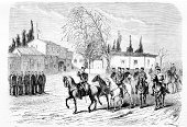 Horse,History,Ilustration,Oldenburg,Italy,War,Non-Urban Scene,Italian Culture,Red Cross,Drawing - Activity,Retro Revival,Red Cross,Old-fashioned,Travel,Tcekmedgé,Wrinkled,Art,Risorgimento,19th Century Style,Publication,Drawing - Art Product,Photography,Isolated,Scenics,Black And White,Geographical Locations,Cultures,Landscape,Renaissance,Newspaper,France,Famous Place,Old,Armed Forces,Science,Victorian Style,Army,Isolated On White,General,Engraving,Architecture,Entrance,Antique Book,Document,Aging Process,Magazine,Printout,Print,Stained,Europe,Paper,Sketch,Book,French Culture,Urban Scene,Engraved Image,Obsolete,Antique,Classical Style,Painted Image