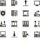 Symbol,Computer Icon,Network Server,Network Security,Application Software,Firewall,Data,Computer Network,Storage Compartment,Computer,Black And White,Protection,Communication,Wall,Computer Chip,Smart Phone,Security,Vector,Downloading,Security System,Mobility,Exchanging,Representing,Ilustration,Gear,Cursor,Set,Clip Art,Laptop,progam,Wireless Technology,Arrow Symbol,upload,Internet,Mobile Phone,Shield