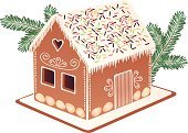Gingerbread House,Gingerbread Cookie,Cake,Christmas,Heart Shape,Vector,Food,Baking,Beautiful,White,Green Color,Glazed,Colors,Ilustration,Sprinkles,Cookie,Food And Drink,Pastry,Souvenir,Christmas,Icing,Ice,Gift,Branch,Window,Yellow,Red,Brown,Shape,Almond,Coniferous Tree,Art,Cultures,Icicle,Grain And Cereal Products,Holidays And Celebrations,Baking,Sweet Food,Snow,Decoration,Traditional Festival