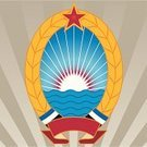 Wheat,Coat Of Arms,Communism,Ellipse,Sea,commie,Sunrise - Dawn,Ideas,Striped,Water,Concepts,Banner,Star Shape,Red,Ilustration,Vector,Flag,Art,cotoure,People,Objects/Equipment,Concepts And Ideas,commy,coture