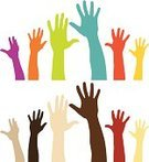 Human Hand,Hand Raised,Volunteer,Multi-Ethnic Group,Charity and Relief Work,Arms Raised,Variation,Silhouette,Vector,Voting,Student,Symbol,Human Arm,Election,Waving,Indigenous Culture,Palm,Ilustration,Ideas,Arms Outstretched,Inspiration,Multi Colored,Hello,Concepts,Computer Graphic,Ethnicity,Digitally Generated Image,Design Element,Sparse,Isolated,Child,Modern,Sayings,People,Offspring,Assistance,Asking,Desire,Help,Kids - Charity Organization,Minority