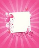 Pink Color,Balloon,Breast Cancer,Ribbon,Breast Cancer Awareness Ribbon,Flower,Heart Shape,Pattern,Vector,Symbol,Design,Shiny,Banner,Design Element,Clip Art,Illustrations And Vector Art,Vector Backgrounds,Sunbeam,Computer Icon,Copy Space,Ilustration,Peace Symbol,Social Awareness Symbol,Floral Pattern