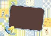 Baby Boys,Frame,Picture Frame,Little Boys,Child,Invitation,Backgrounds,Pattern,Banner,Toy,Greeting Card,Vector,soother,Placard,Childhood,Decoration,Cartoon,Vector Backgrounds,Animals And Pets,Baby Animals,Ilustration,Illustrations And Vector Art,Fun,Cheerful,Blank,Pacifier,Blue