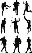 Silhouette,Golf,American Football - Sport,Rugby,Sport,Plastic Disc,Backpacker,Mountain Climbing,Playing,Backpack,Hiking,Lacrosse,Rock Climbing,Upside Down,Vector,Athlete,Plastic Hoop,Black And White,Isolated On White,Multiple Image,Action,Computer Graphic,Sports Helmet,Recreational Pursuit,Full Length,Sports Clothing,Cartwheel,Adults Only,Professional Sport,Balance,Digitally Generated Image,Golf Club,Studio Shot,Medium Group Of People,Clip Art,Leisure Activity,Standing,Ilustration,Sports Equipment,White Background,Vector Graphics,Men,Running,Holding,Competitive Sport