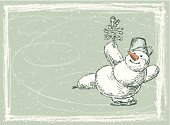 Ice-skating,Holiday,New Year's Eve,Snowman,Cheerful,Happiness,Ice,Greeting Card,Frame,Humor,Winter,Christmas Card,Season,Cold - Termperature,Drawing - Art Product,Ice Rink,Christmas Tree,New Year,Cartoon,Backgrounds,New Year's,Outline,Carrot,Contour Drawing,Christmas,Symbol,Speculative Being,Fir Tree,Loving,Holiday Backgrounds,Sketch,Holidays And Celebrations