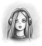 Music,Beautiful Woman,Fun,Young Adult,Vertical,Blond Hair,Teenage Girls,Pencil Drawing,Women,Photography,Adult,Headphones,Arts Culture and Entertainment,Illustration,Teenager,Beauty,Sketch,96,593,965,809,657,900,000,000,000,000,000,000,000,000,000,000,000,000,000,000,000,000,000,000,000,000,000,Portrait,Drawing