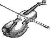 Violin,Music,Old-fashioned,Retro Revival,Musical Instrument,Engraving,Drawing - Art Product,Sketch,Design Element,Engraved Image,Ink,Ilustration,Cartoon,1940-1980 Retro-Styled Imagery,Black Color,Vector,White,Pencil Drawing,Design,Shape,Cross Hatching,Elegance,Squiggle,Rough,Art,Part Of,Style