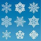Snowflake,Silhouette,Snow,Backgrounds,Symbol,Single Flower,New Year's Eve,Winter,Abstract,Set,Decoration,Back Lit,Season,Ice,Isolated,Design Element,Holiday,Variation,Vector,Blue,Painted Image,Design,Group of Objects,Frozen,Symmetry,Christmas Ornament,Shape,No People,Art Product,Ilustration,Christmas Decoration,Weather,Pattern,Image,Large Group of Objects,Collection,Star Shape,Cold - Termperature,White
