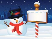 Sign,North Pole,Christmas,Winter,Snowman,Snow,Wooden Post,Hill,Top Hat,Party - Social Event,Tree,Greeting,Backgrounds,Forest,Holiday,Season,White,December,North,Twilight,Branch,Celebration Event,Celebration,Banner,Hat,Scarf,Pine Tree,Carrot,Candy Stripe,Smiling,Celebratory Toast,Cheerful,Happiness,Berry,gradation,Blue,Twig,Placard,Coal,Moonlight,Holly