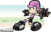 Softball,Softball Player,Sliding,Child,Youth League,Dirt,Ilustration,T-ball,Playing Field,Action,Digitally Generated Image,Sports Helmet,Positive Emotion,Sports Uniform,Adolescence,Cleats,Alertness,Motivation,Playing,Teenager,Cute,Comic Book,Match - Sport,Adulation,Focus - Concept,Outdoors,Caricature,Humor,Youth Sports League,Sport,Design,Backgrounds,youth sports,Skill,Competition,Childhood,Manga Style,Cartoon,Femininity,Cheerful,Winning,Grass,Playful,Courage,Success,Fun,Computer Graphic,Youth Culture,Sky,Mascot,World Title,Happiness,Power,Teamwork,Speed,Clip Art,Sign,Base,Leisure Games,Incentive,Batting