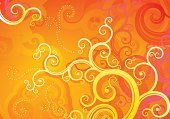 Pattern,Backgrounds,Swirl,Abstract,Design,Vector,Single Line,Orange Color,Art,Computer Graphic,Yellow,Striped,Ornate,Spotted,Decoration,Creativity,Red,Curve,Elegance,Heat - Temperature,Deco,Ilustration,Symbol,Beauty,Wave Pattern,Curled Up,Digitally Generated Image,Painted Image,Style,Horizontal,No People,Empty,Flowers,Illustrations And Vector Art,Nature