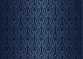 Blue,Carpet - Decor,Wallpaper,Seamless,Backgrounds,heraldic,Pattern,Dark,Silver Colored,Silk,Elegance,Luxury,Antique,Textured,Design,Old,Vector,Repetition,Baroque Style,Decoration,Art,Style,Illustrations And Vector Art,Curve,Backdrop,Textile,Vignette,fashioned,Ilustration,Victorian Style,Old-fashioned,Arts And Entertainment,Ornate