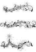 Music,Musical Note,Christmas,Sheet Music,Christmas Music,Musical Staff,Holiday,Black And White,Banner,Dirty,Winter,Key Signature,Swirl,Holly,Snow,Snowflake,Grunge,Musical Symbol,Christmas Decoration,Abstract,Floral Pattern,Christmas Lights,Digitally Generated Image,Treble Clef,Design Element,Ornate,Gray,Berry Fruit,Pattern,Cultures,Flowing,Elegance,Computer Graphic,Leaf,Scroll Shape,Celebration Event,Cold - Termperature,Decoration,Set,White Background,Scratched,Curve,Glowing,Curled Up,Image,Christmas Illustration,Composition,Joy,holly berry,Costume,Wave Pattern,No People,Vibrant Color
