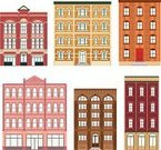 Apartment,Built Structure,Building Exterior,Window,Facade,Construction Industry,Brick,Architecture,Architecture Backgrounds,Architecture And Buildings,Residential Structure,Illustrations And Vector Art
