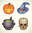 Cooking Pan,Cauldron,Icon Set,Human Skull,Halloween,Human Skeleton,Witch's Hat,Trick Or Treat,Potion,Spooky,Jack O' Lantern,Holiday,Halloween,Pumpkin,Grim Reaper,Illustrations And Vector Art,Party - Social Event,Vector,Stage Costume,Fear,Horror,Lollipop,Vector Icons,Fun,Death,Undead,October,Symbol,Holidays And Celebrations