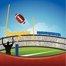 American Football - Sport,Football,Football Goal Post,Stadium,American Football Stadium,Football Field,Goal,Winning,Sport,Aspirations,Spectator,Crowd,Success,Referee,Goal Post,Sports Team,Vector,Silhouette,Touchdown,Teamwork,Back Lit,Team,uprights,Design Element,Team Sport,Ilustration,Extra Point,Competitive Sport,vector background,Blue,Ideas,Scoring,Yard Line,Green Background,Competition,Sports Equipment,Concepts,Copy Space,Football Background,Grid Irons,Rivalry,Equipment,Football Yard,Achievement,Sports Background,scoreing,Outdoors,Grid Irons,Playing Field,Vibrant Color,Design,gridiron,sports and fitness,graphic element,Field