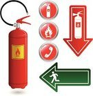 Evacuation,Fire Extinguisher,Emergency Sign,Symbol,Fire - Natural Phenomenon,Exit Sign,Emergency Exit,Computer Icon,Vector,Fire Hose,Telephone,Copy Space,Fire Road,Work Tool,Interface Icons,Label,Ilustration,Warning Sign,Vector Icons,Equipment,Objects/Equipment,Headset,Shiny,Extinguishing,Warning Symbol,Handle,Industrial Objects/Equipment,Push Button,Illustrations And Vector Art