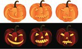 Cheerful,Bright,Autumn,Flame,October,Halloween,Multi Colored,Dark,Laughing,Smiling,Greeting,Backgrounds,Happiness,Style,Fear,Orange Color,Holiday,Vegetable,Season,Decor,Symbol,Spooky,Evil,Carving - Craft Product,Pumpkin,Cute,Lantern,Ominous,November