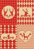 Christmas,Plaid,Argyle,Silhouette,Deer,Antler,Stag,Fawn,Pattern,Checked,Red,Seamless,Animal,Frame,Set,Christmas Decoration,Repetition,Vector,Wallpaper Pattern,Christmas Ornament,Holiday,Decoration,Season,Insignia,Illustrations And Vector Art,Frame,Christmas,Ilustration,Holidays And Celebrations,Label,Vector Backgrounds,Holiday Backgrounds,Celebration,Beige
