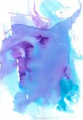 Watercolor Painting,Backgrounds,Purple,Art,Painted Image,Blue,Abstract,Arts Abstract,Arts Backgrounds,Arts And Entertainment,Ink,Visual Art